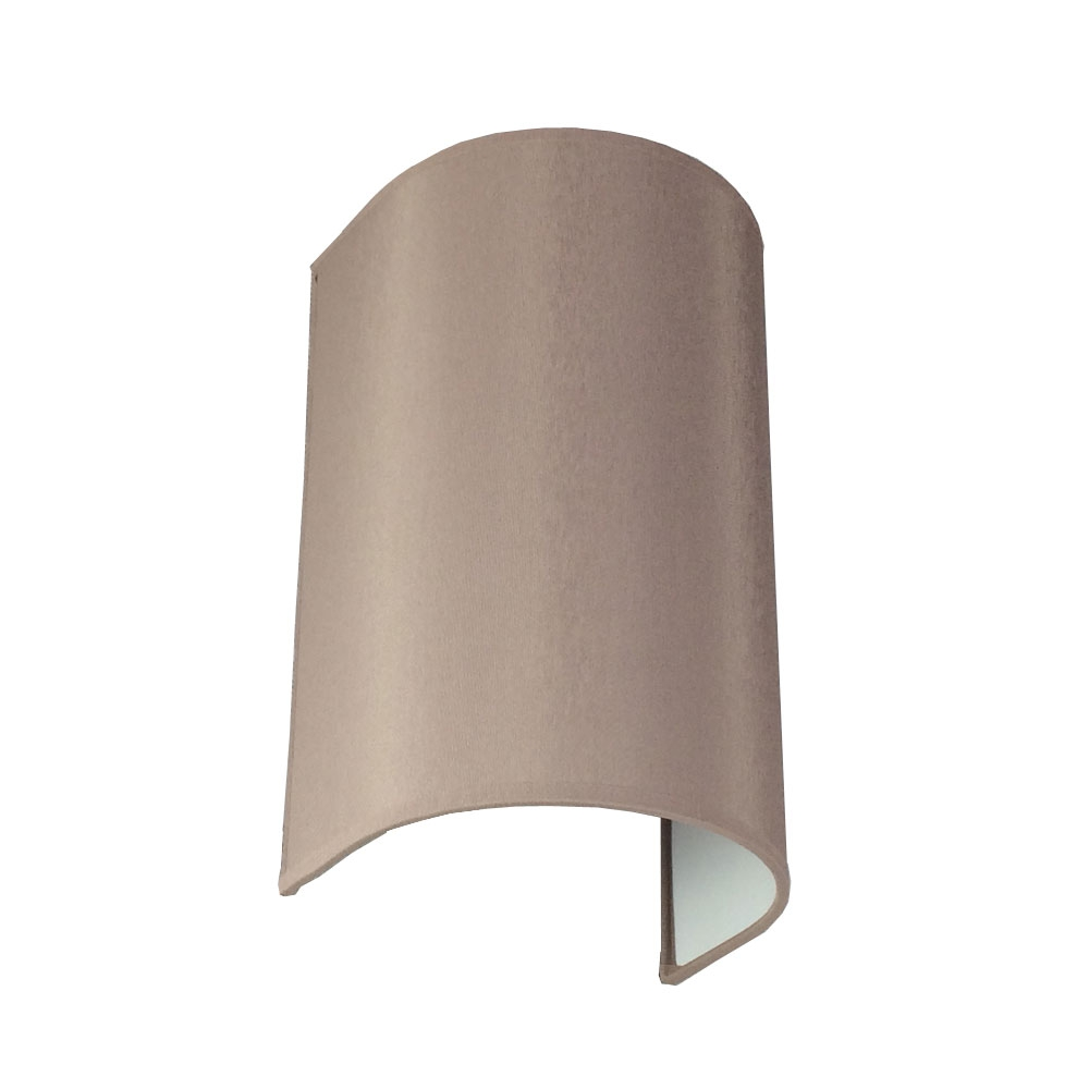 FLOATING GREY COLUMN WALL LIGHT